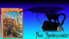 """Uitleg & Review van het spel """"Brugge"""", uitgegeven door White Goblin Games, door Nox' Spellenzolder. Vragen, opmerkingen of verzoekjes, mail mij gerust. 2-4 S..."""