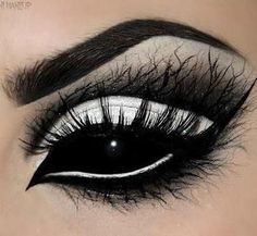 Pretty makeup but since I'm a SPN fan....DEMON EYES