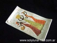 Cuencos y Bandejas Pasta Piedra, African Paintings, Ceramic Birds, Pasta Flexible, Pottery Designs, Projects To Try, Clay, Paper, Crafts