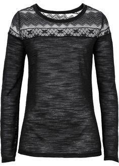 black longsleeve shirt with lace <3
