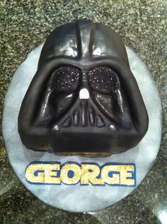 darth vader face cake - Google Search