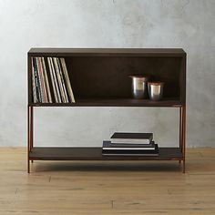 a bit pricey- but a cool storage piece for records/record player for lucys room