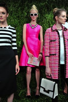 Pin for Later: The Ultimate Guide to Spring's Biggest Color Trends Popular in Pink Kate Spade New York Spring 2014