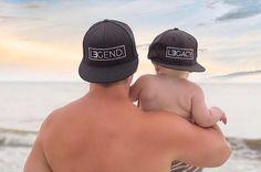 Daddy and Me Hats Daddy and Me Daddy and Son by tolittlearrows