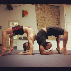 Yoga men. More inspiration at Valencia Bed and Breakfast: http://www.valenciamindfulnessretreat.org