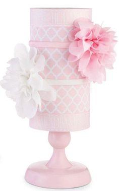 Mud Pie Baby Girl Home Organization Pink and white Headband Holder 176223