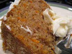 *JM - MADE - So delicious! Also added 1 tsp of Nutmeg to the batter for extra fall flavor :) * Carrot Cake with Cream Cheese Frosting!