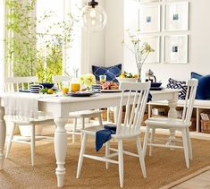 Lachman Fixed Dining Table | Pottery Barn