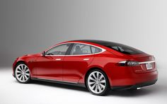 Tesla S .. Electric only .. Liquid cooled 85 kWh performance battery underneath cabin .. 300 miles - 0-60 in 4.4 seconds - 130 mph .. seats 5 adults and 2 children with rear facing seats! Check it out at teslamotors.com