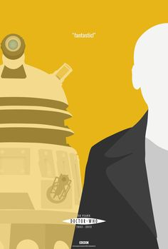 """randombell: """"Doctor Who 50th Anniversary Poster Set""""In honor of The Doctor's 50th Anniversary, I'm in the processing of making a series of ..."""