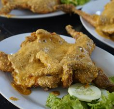 Salted Egg Fried Chicken