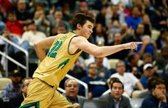 The NCAA college basketball tournament is in full swing, and Notre Dame guard Steve Vasturia is right in the center of the action. #SoJO, #NCAA, #SteveVasturia, #NotreDame