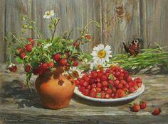 Kalinovskaya Ekaterina. Strawberry