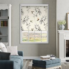With a soft ivory background, we have a feeling that this Harlequin Additions Amazilia Linen roller blind will become an absolute classic.