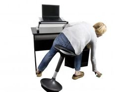 fa8ce1de005 Wobble Stool By Uncaged Ergonomics - The Perfect Ergonomic Office Stool for  Active Sitting