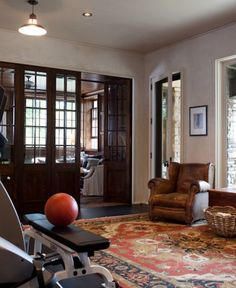 Fitness room by Kate Jackson