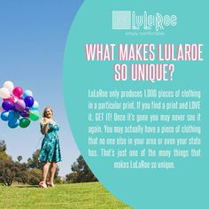 Why is LuLaRoe so unique?