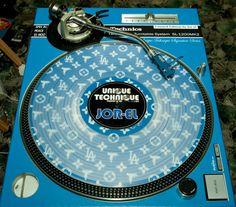 custom serato control vinyl and technics created online at www.styleflip.com