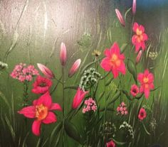 "Saatchi Art Artist Darina Vanková; Painting, ""Lalie"" #art"