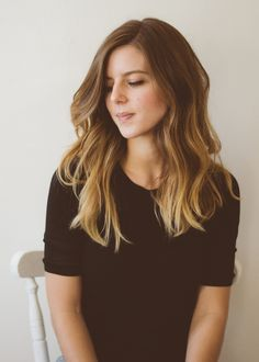 brunette soft ombre