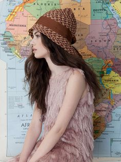 ph.elisabetta scarpini, model lidia@fashionmodel, mua costanza scornaienchi, hat Caterina Bertini
