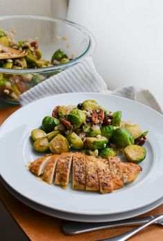 Without realizing, you may have already laid your peepers on this flavorful side as it is pictured here with my world's best chicken recipe. So many of you asked for the how-to of these brussels! And I'm happy to indulge. You'll love this dish because it is versatile with many entrees AND the ingredients are available year-round,...