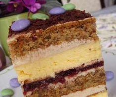 Serowiec z biszkoptem orzechowym - PrzyslijPrzepis.pl Polish Desserts, Polish Recipes, Mini Cakes, Cupcake Cakes, Russian Recipes, Christmas Baking, Cake Cookies, Yummy Cakes, Amazing Cakes