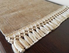 Burlap Table Runner - Home decor - Choose your lengthYou can find Runners high and more on our website.Burlap Table Runner - Home decor - Choose your length Decoration Hall, Decoration Photo, Decoration Christmas, Decoration Bedroom, Decoration Design, Diy Home Decor, Table Halloween, Burlap Table Runners, Burlap Crafts