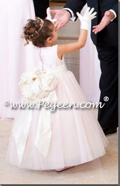 This dress was the inspiration for my flower girls.