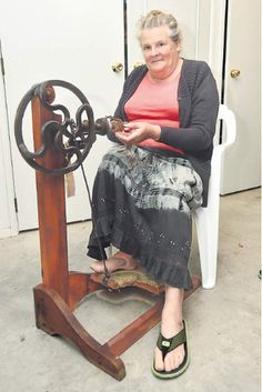 A MYSTERY surrounding a 100-year-old spinning wheel has been solved. Two years ago...