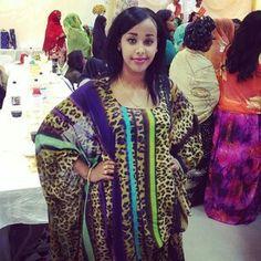 Dirac Traditional Somali Wedding Attire
