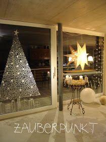 Windowpainted Christmastree