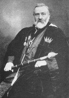 Dr. William Wynn Westcott (1848 – 1925) was a coroner, ceremonial magician, and Freemason born in Leamington, Warwickshire, England. He was a Supreme Magus (chief) of the Societas Rosicruciana in Anglia and later went on to co-found the Hermetic Order of the Golden Dawn.