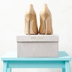 Jimmy Choo pumps. A girl can dream.