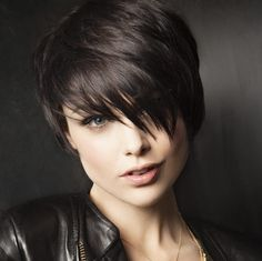 10. Long pixie Here's a rather long pixie cut. If you happen to already have short hair and you're looking for a way to make a smooth transition into longer hair, this is one of the ways to do just that.