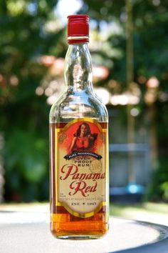 Panama Red Overproof Rum....@caroline & joy...we may have check this out!