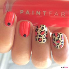 For those leopard lovers out there, check out these cute May manicures | JustFab Blog