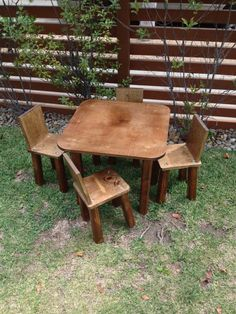 solid wood childrens table and chairs t4 spa chair pedicure 40 best children s images kids kid handmade at jason varley designs
