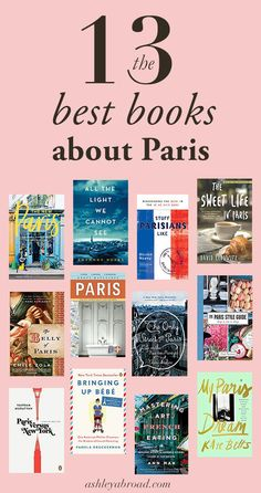 I've read dozen of books about Paris, and this is a list of the best books I've ever read about Paris, from memoirs to classic novels to Paris travel guides. book The BEST Books to Read About Paris Best Travel Books, Best Books To Read, Good Books, My Books, Books About Travel, Literary Travel, Free Books, Paris Paris, Books