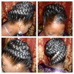 goddess braids ❤