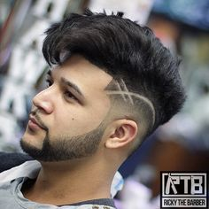 Visit for more 35 Cool Mens Hairstyles www.menshairstyle The post 35 Cool Mens Hairstyles www.menshairstyle appeared first on frisuren. Cool Hair Designs, Hair Designs For Men, Hair Tattoo Designs, Cool Hairstyles For Men, Haircuts For Men, 2018 Haircuts, Undercut Hairstyles, Hairstyles Haircuts, Undercut Hair Men