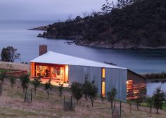 A house on a sheep farm in Tasmania by John Wardle Architects is the winner in the villa category at the World Architecture Festival.
