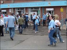 The old club shop