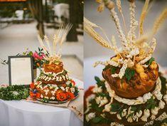 Traditional Ukrainian Korovai Cake | The Raleigh Hotel Wedding | Miami Beach Wedding Photography by Moriah Cuda  moriahcudaphotography.com