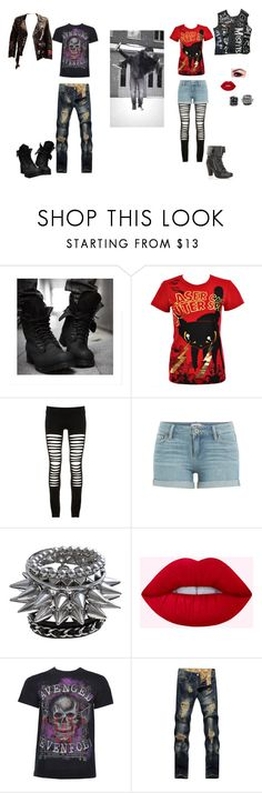 """""""Untitled #56"""" by squeaky-silver-wright ❤ liked on Polyvore featuring Newbreed Girl, Maurie & Eve and Paige Denim"""