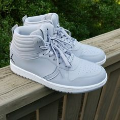 detailed look b9ada a772c Jordan Shoes   Wolf Grey Jordans   Color  Gray White   Size  10