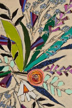 Lulie Wallace Flowers For Phoebe Wall Mural
