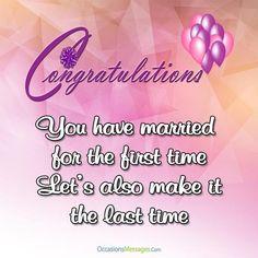 Wedding Congratulations Messages Wedding Pinterest Wedding