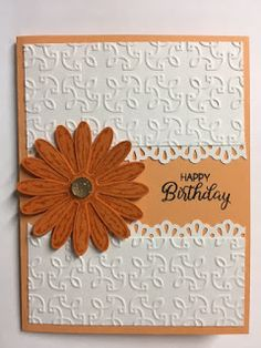 My Creative Corner!: Daisy Delight, Beautiful Bouquet, Birthday Card, Stampin' Up!, Rubber Stamping, Handmade Cards