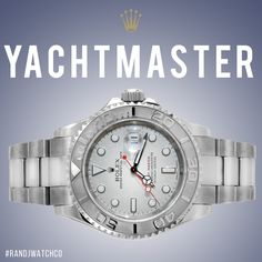 Rolex Yachtmaster on sale now email us at sales@randjwatchco.com